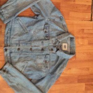 A jean jacket